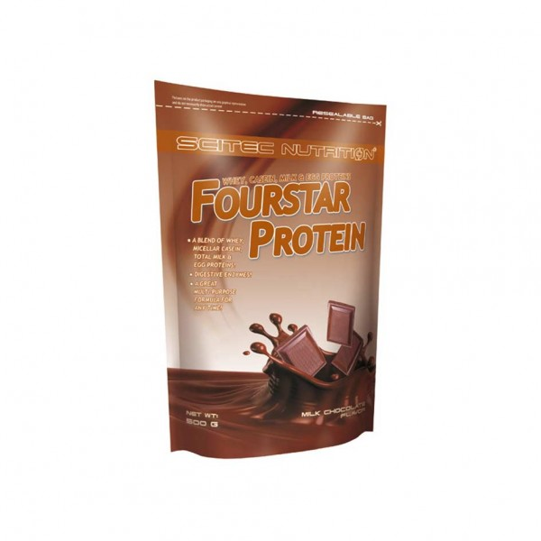 Scitec Nutrition Fourstar Protein 500g Milk Chocolate
