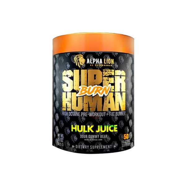 Alpha Lion SuperHuman Burn 425g Dose