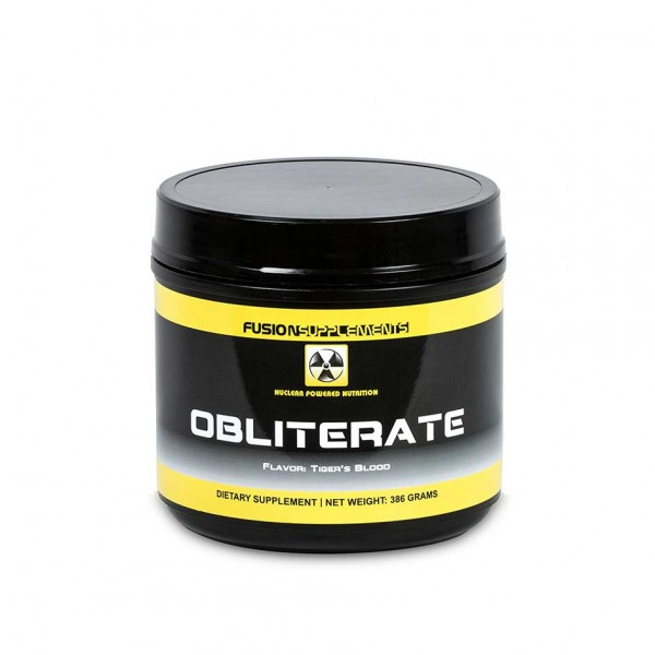 Fusion Supplements Obliberate 386g Dose