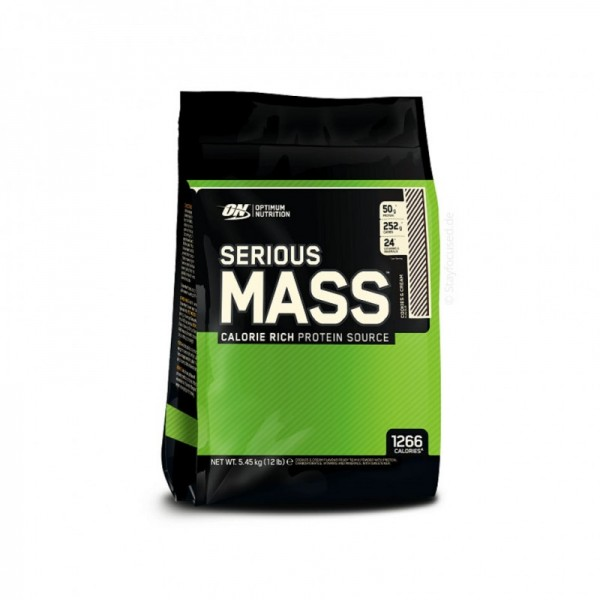 Optimum Nutrition Serious Mass 5450g Dose