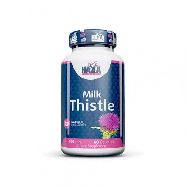 HAYA LABS Milk Thistle 100mg 60 Kapsel Dose