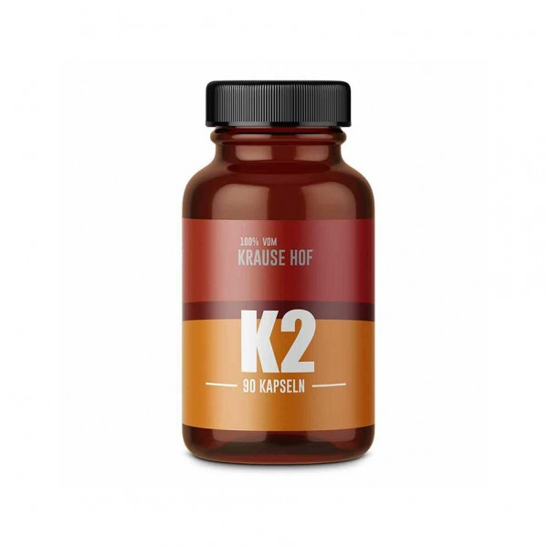 Krause Hof Vitamin K2 90 caps 200 mcg