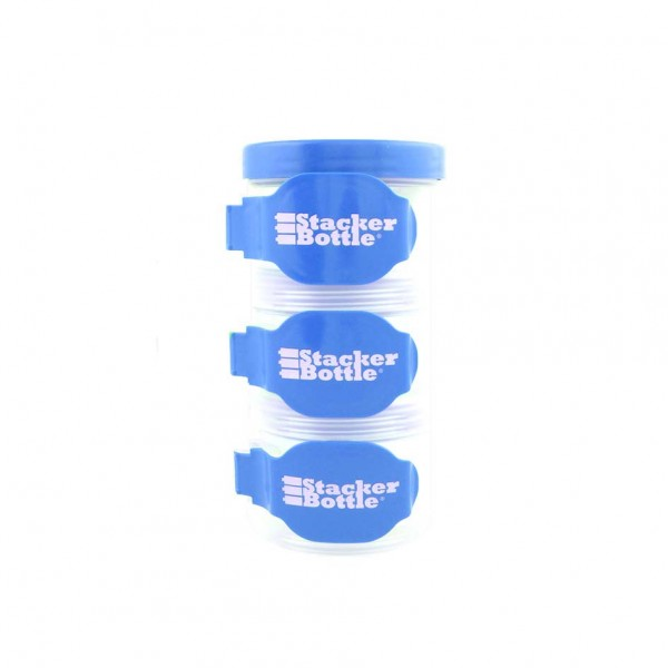 Stacker Bottle Blau