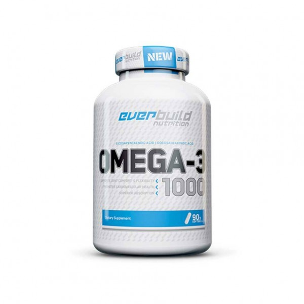 EVERBUILD Omega-3 / 90 Softgels Dose