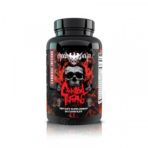Chaos and Pain Cannibal Inferno 90 Kapsel Dose