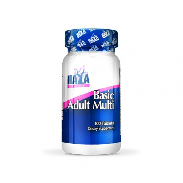 HAYA LABS Basic Adult Multivitamin 100 tabs
