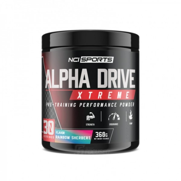Nutraclipse Alpha Drive Xtreme 360g Dose