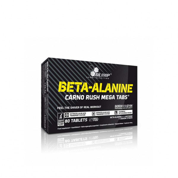 Olimp Beta-Alanin Carlo Rush Mega Tabs - 80 Tabletten
