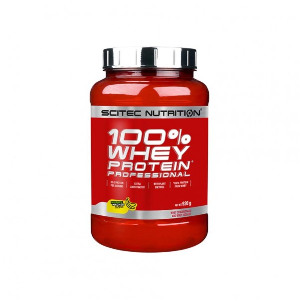 Scitec Nutrition 100% Whey Professional 920g Dose