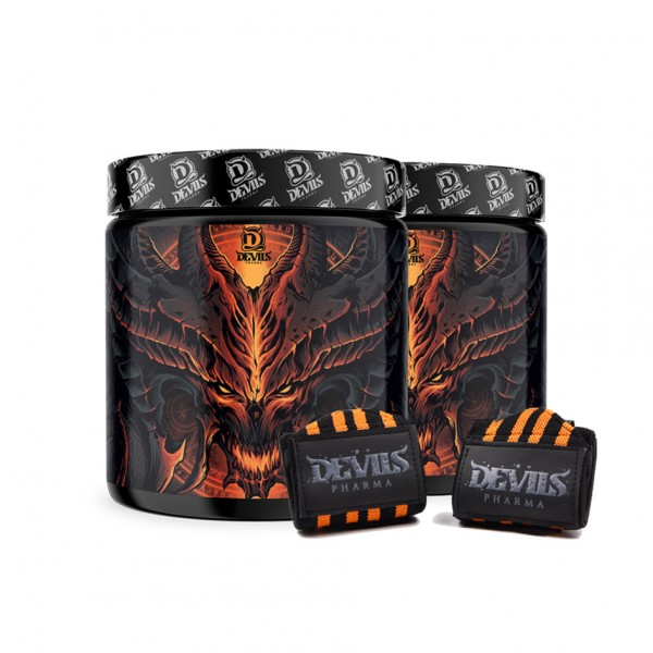 Devils Work Bundle + Wrist Wraps (2x 360g)