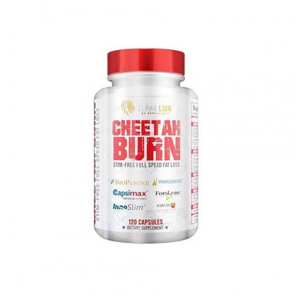 Alpha Lion Cheetah Burn - No Stim 120 Kapsel Dose