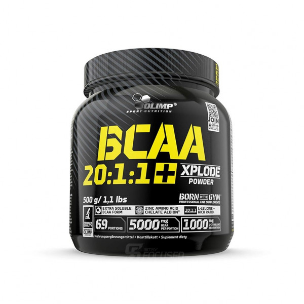 Olimp BCAA 20:1:1 + Xplode Powder - 500 Gramm