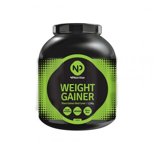 NP Nutrition Weight Gainer 2500g Dose