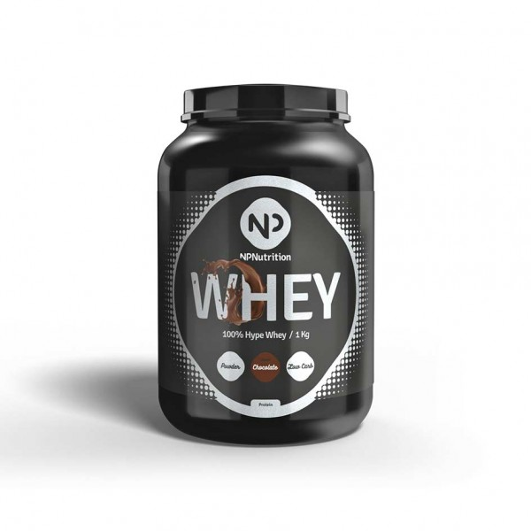 NP Nutrition Whey Protein 1000g Dose Chocolate