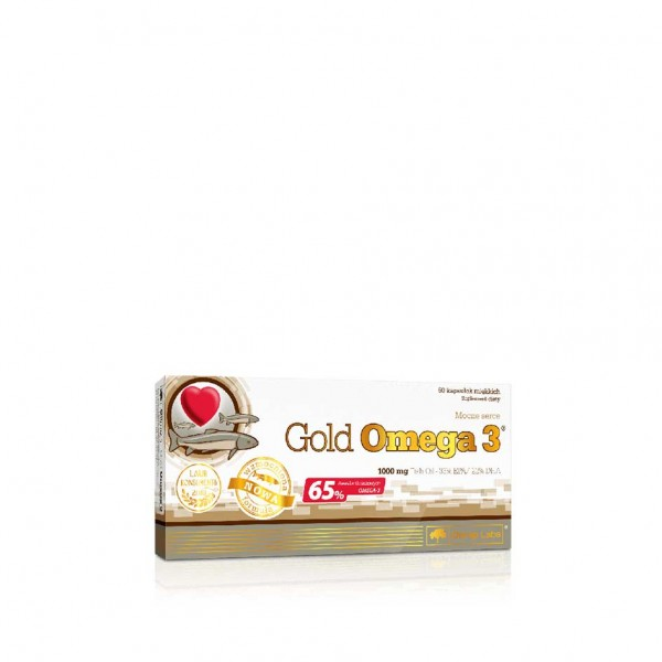 Olimp Gold Omega 3 - 1000mg 60 Kapsel Box