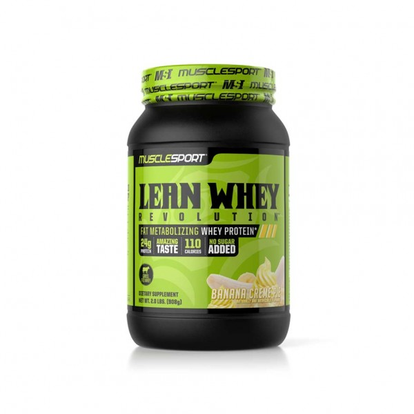 Muscle Sport Lean Whey 908g Dose