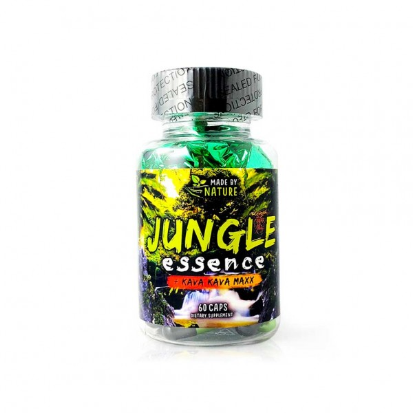 Jungle Essence with Kava Kava Maxx 60 Kapsel Dose