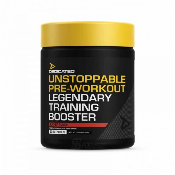 Dedicated Nutrition - Unstoppable NEW 225g Dose