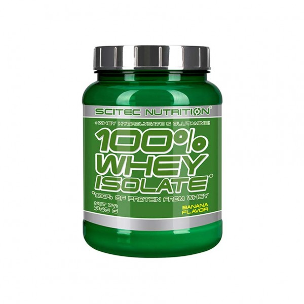 Scitec Nutrition 100% Whey Isolate 700g Dose