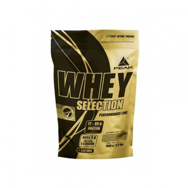 Peak Whey Selection 1000g Beutel