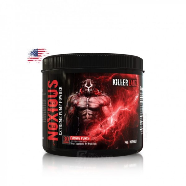 Killer Labz Noxious 240g Dose US-Version