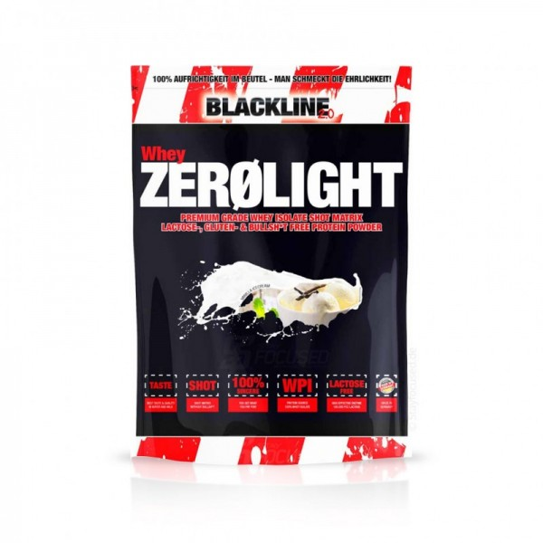 BlackLine 2.0 Whey Zerolight Isolat 750g Beutel