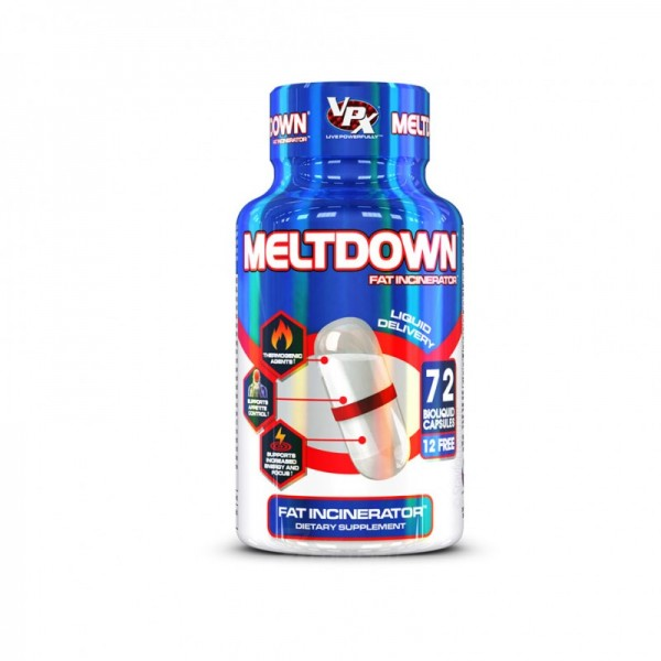 VPX Sports - Meltdown 72 Kapsel Dose