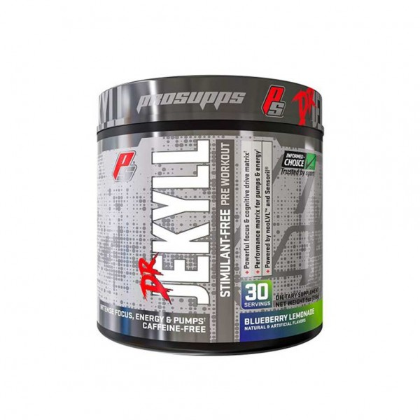 Prosupps Dr. Jekyll STIM Free Pre-Workout Booster