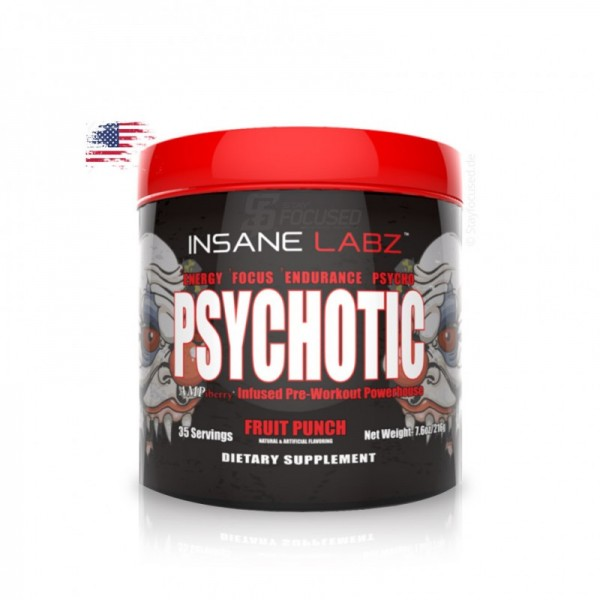 Insane Labz Psychotic 221g Dose