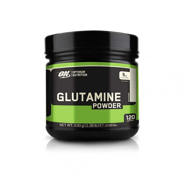 Optimum Nutrition Glutamine Powder 630g Dose