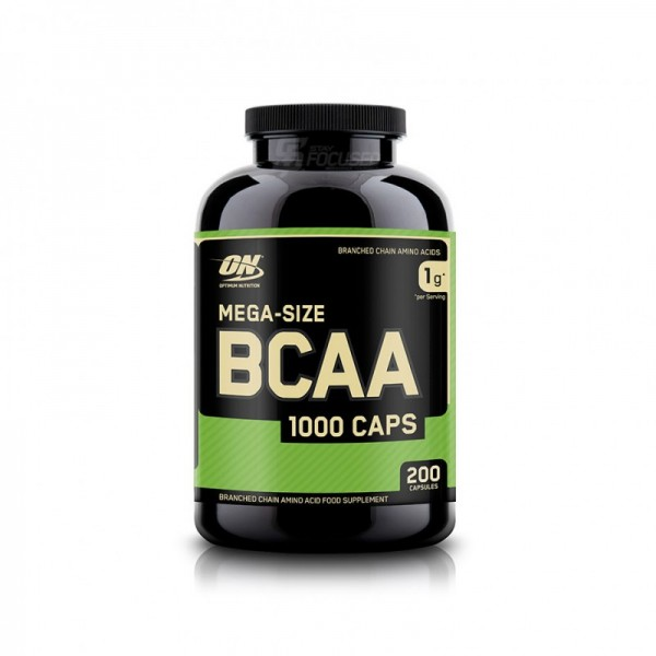 Optimum Nutrition BCAA 1000 - 200 Kapsel Dose