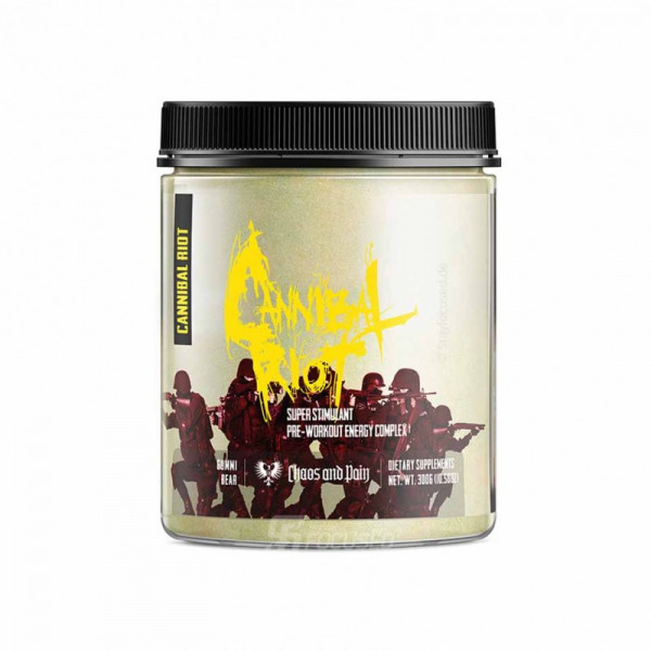 Chaos and Pain Cannibal RIOT 300g Dose