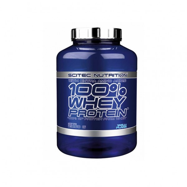Scitec Nutrition 100% Whey Protein 2350g Dose