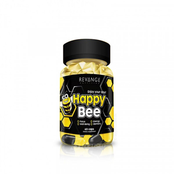 Revange Nutrition Happy Bee 60 Kapsel Dose