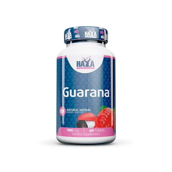 Haya Labs Guarana 60 Tabletten Dose