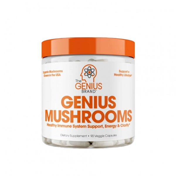 The Genius Brand Genius Mushrooms 90 Kapsel Dose