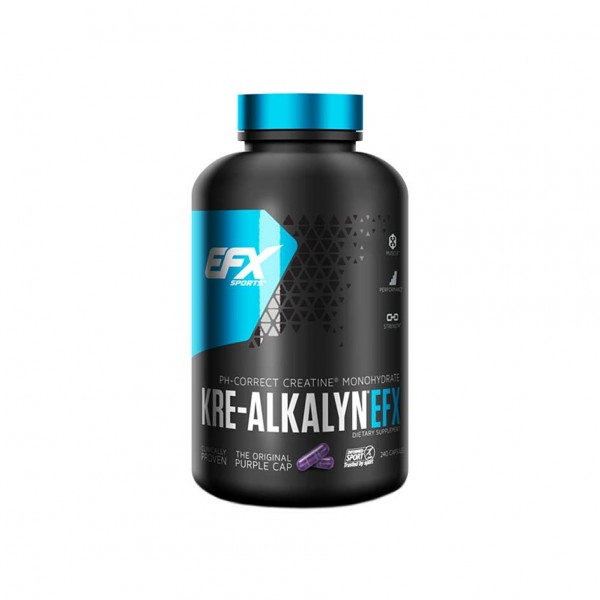 EFX Sports Kre-Alkalyn 192 caps Limited Dose