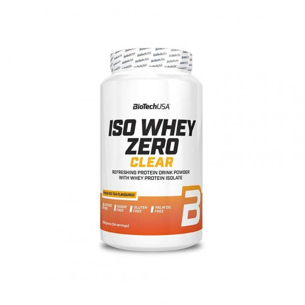 BioTech USA ISO Whey Zero Clear 1362g Dose