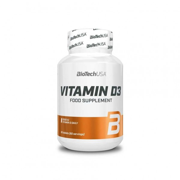 BioTech USA Vitamin D3 60 Tabletten