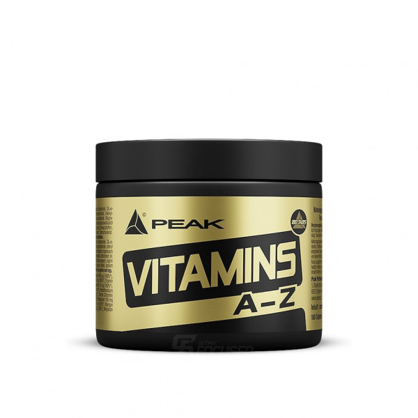 Peak Vitamins A-Z - 180 Tabletten