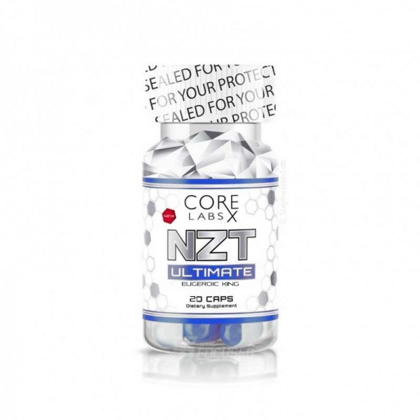 Core Labs X NZT Ultimate Eugeroic King - 20 Kapsel Dose