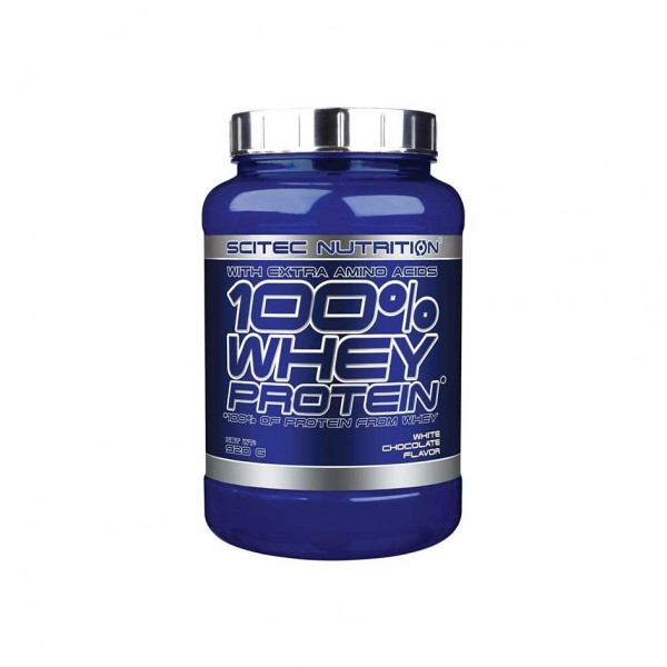 Scitec Nutrition 100% Whey Protein 920g Dose