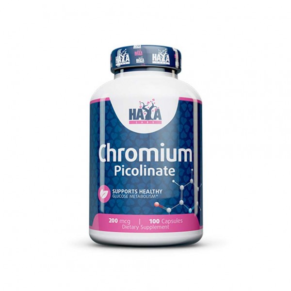 HAYA LABS Chromium Picolinate 200mcg 100 caps
