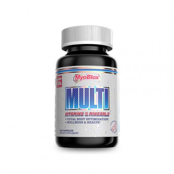 Myoblox Multi Vitamin 120 Kapsel Dose