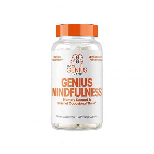 The Genius Brand Mindfullness 30 Kapsel Dose